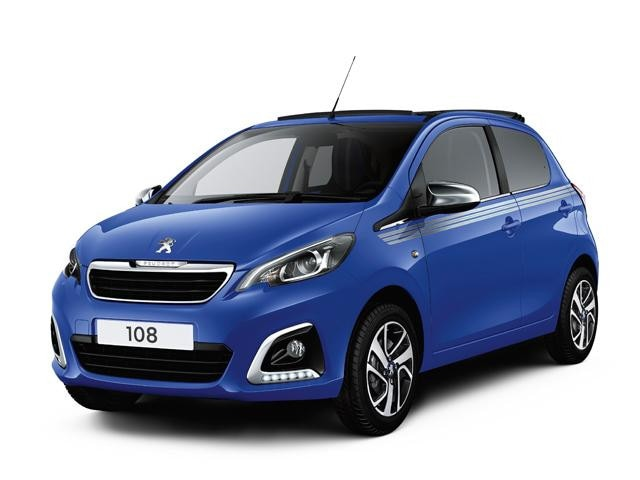 Peugeot 108 Blue Collection Image