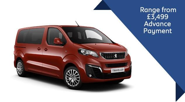 Peugeot Traveller Q2 2018 Motab Offer