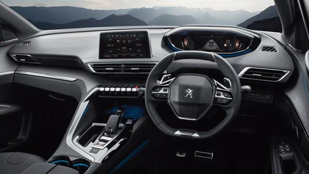 New 3008 SUV GT interior