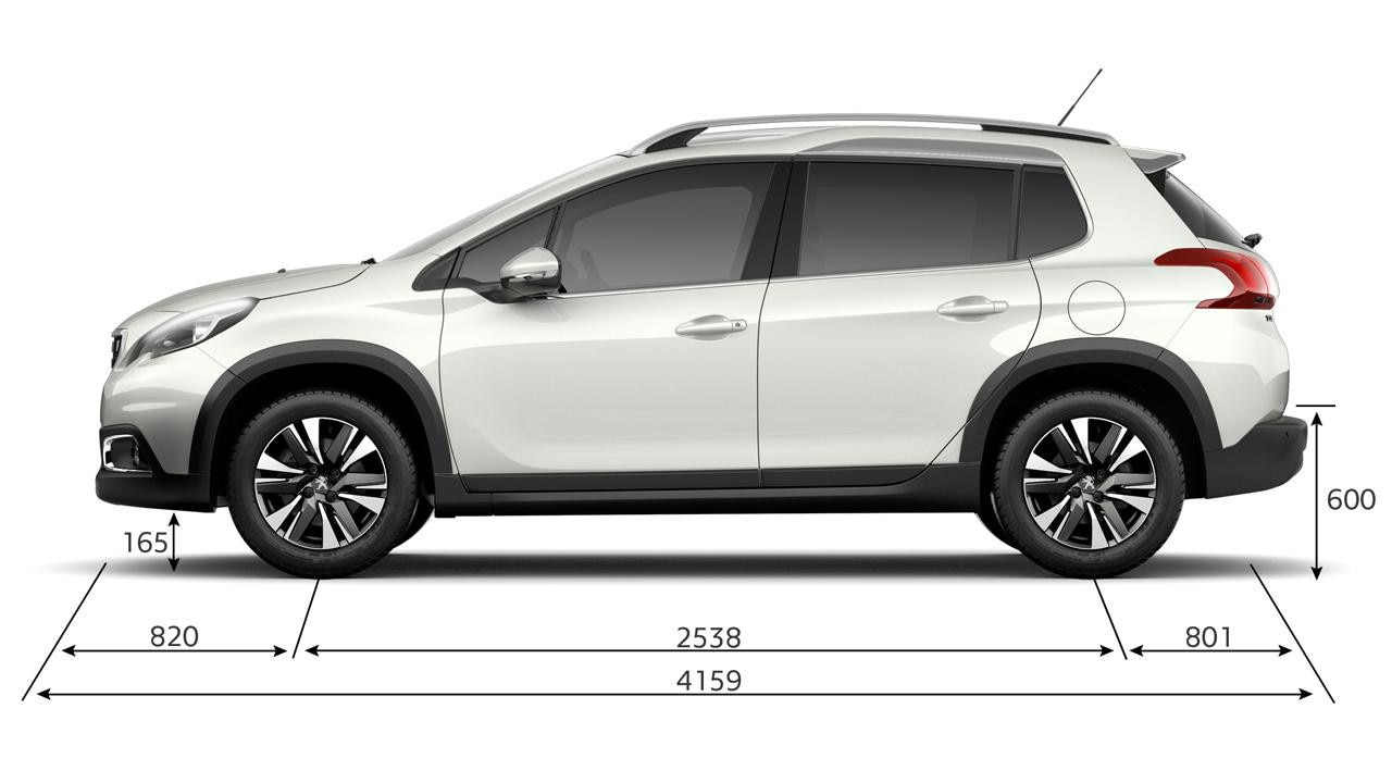 2018 7 Seater Cars >> Peugeot 2008 SUV | Technical Information - Peugeot UK