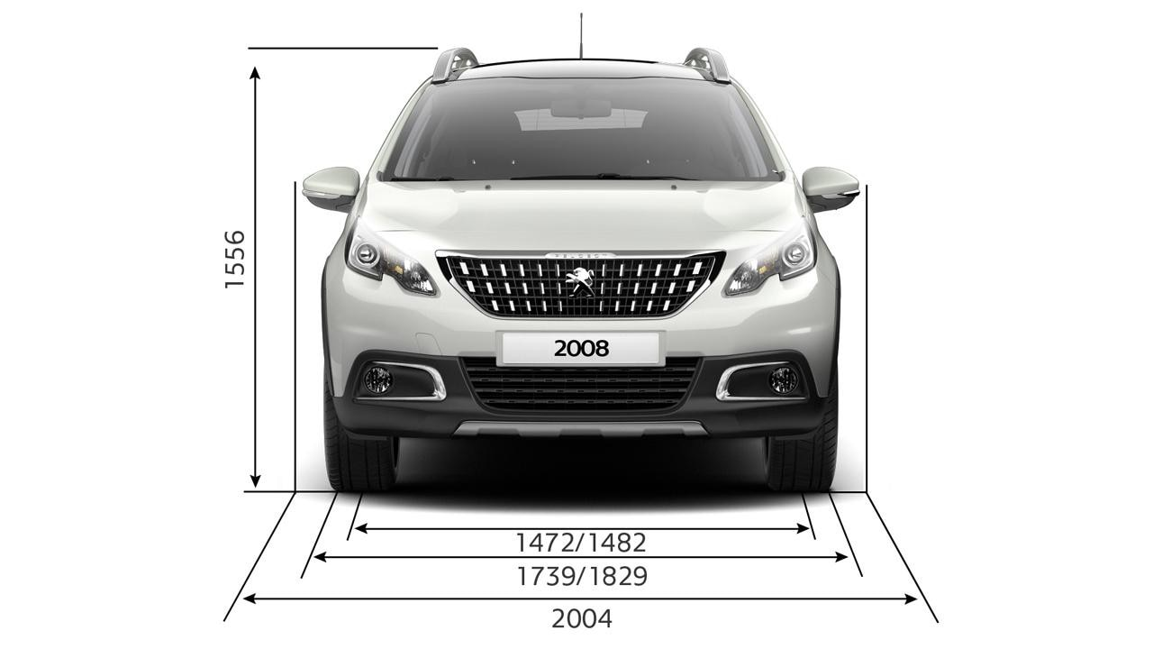 peugeot 2008 suv technical information peugeot uk. Black Bedroom Furniture Sets. Home Design Ideas