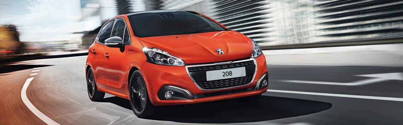 Peugeot 208 Colour Palette