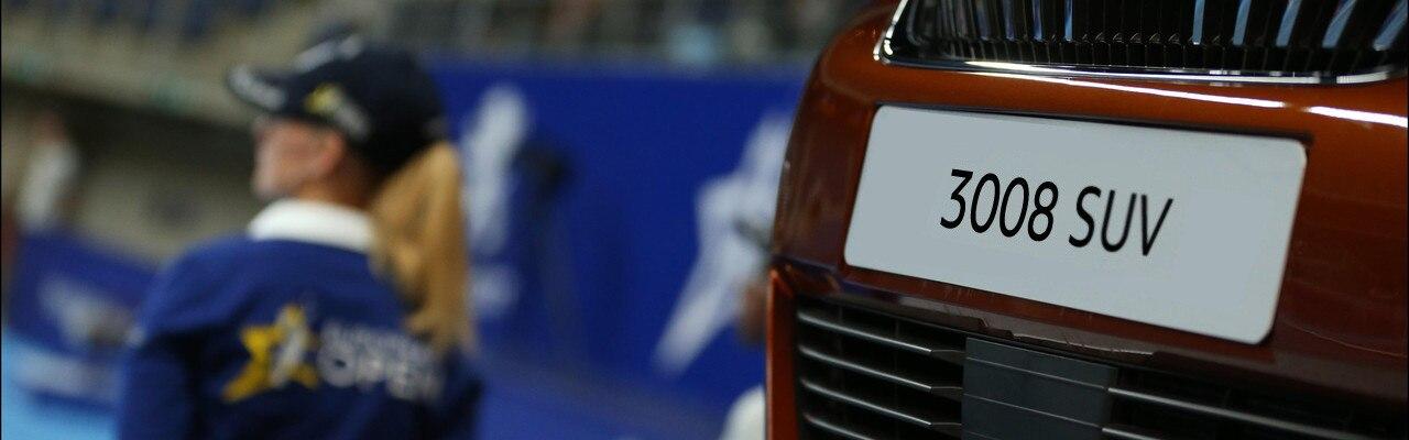 3008 SUV Peugeot tennis