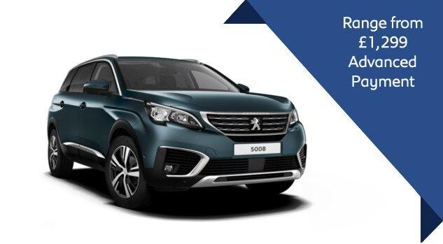 Peugeot 5008 SUV Motab Offer