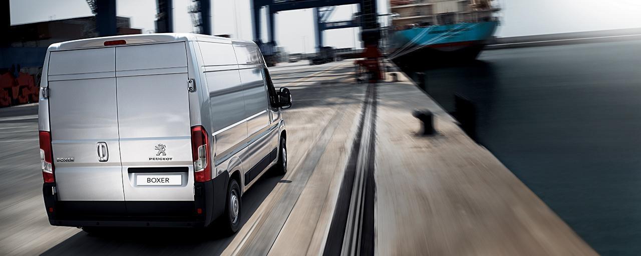 Peugeot Boxer Van - Rear View