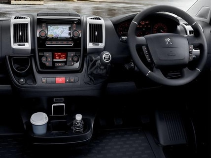 Peugeot Boxer Dashboard