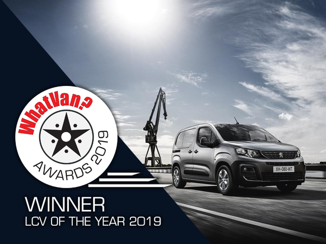 New Partner Van - What Van 2019 Awards