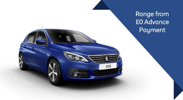 Peugeot 308 Motability Offer
