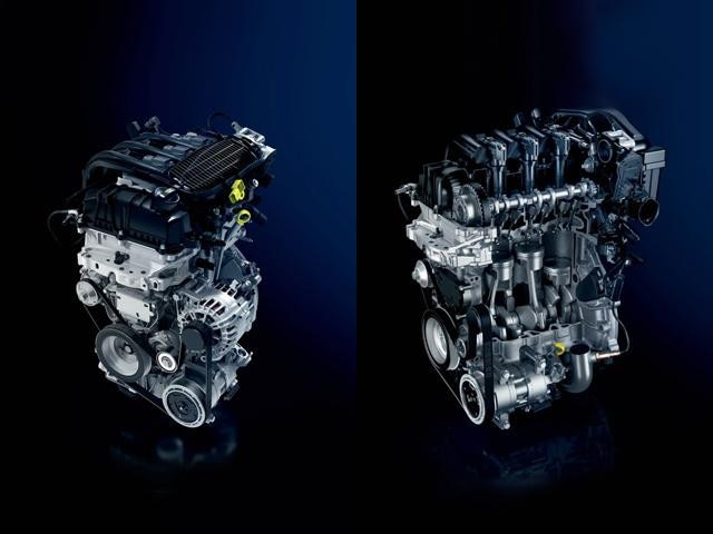 Peugeot Puretech engine turbocharged variants