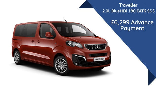 Peugeot Traveller Automatic Motability Offer