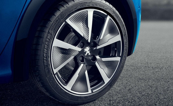 All-new Peugeot 208 tyres