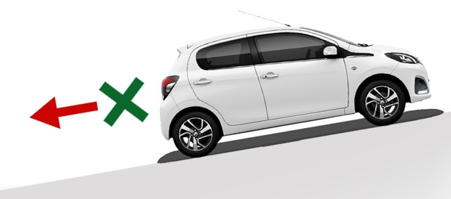 Peugeot 108 hill assist