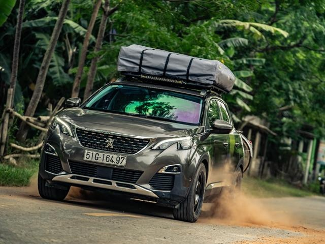 PEUGEOT 3008 SUV - unique off-road specification