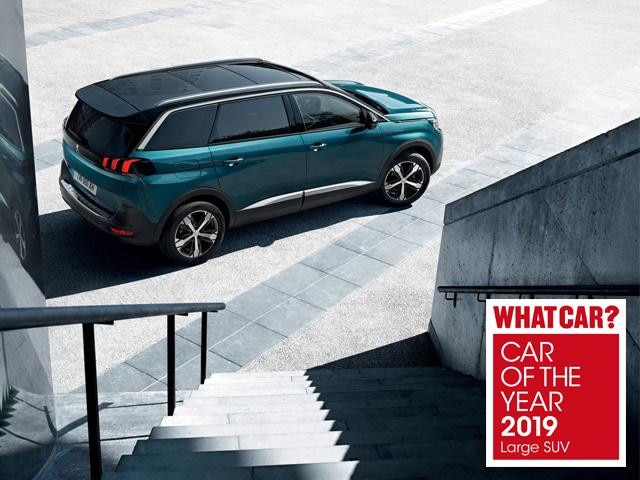 5008 SUV - car of the year 2019