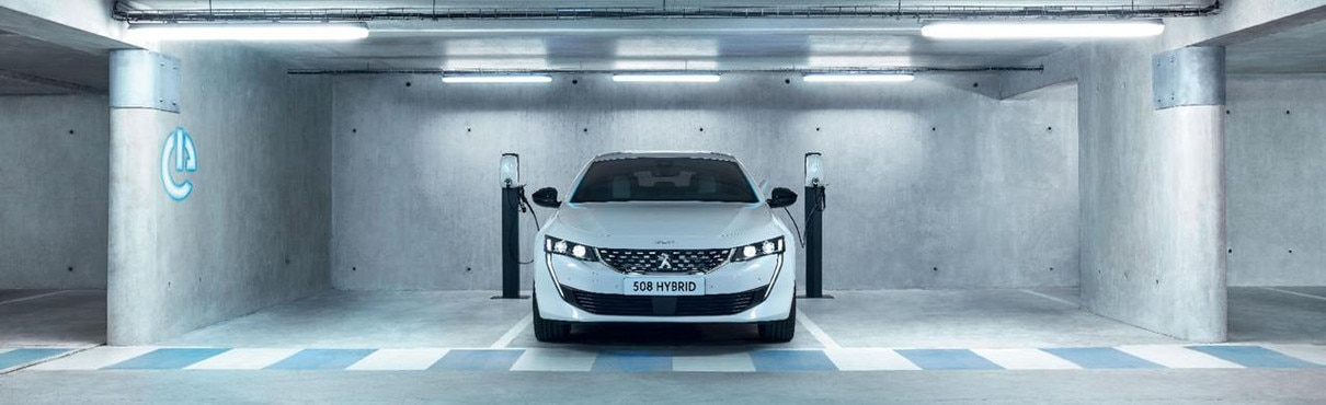 All-new 508 Hybrid - Front view