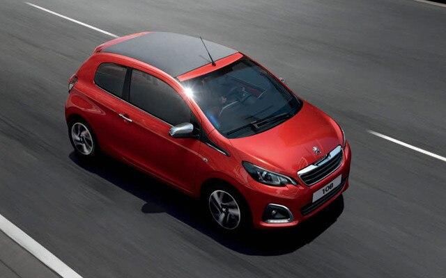 Peugeot 108 on Motability