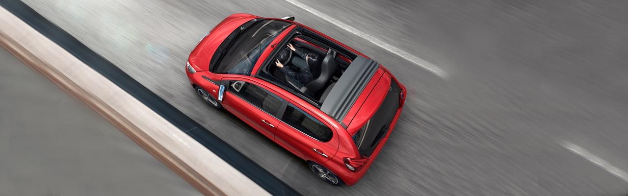 Peugeot 108 TOP! cabrio roof