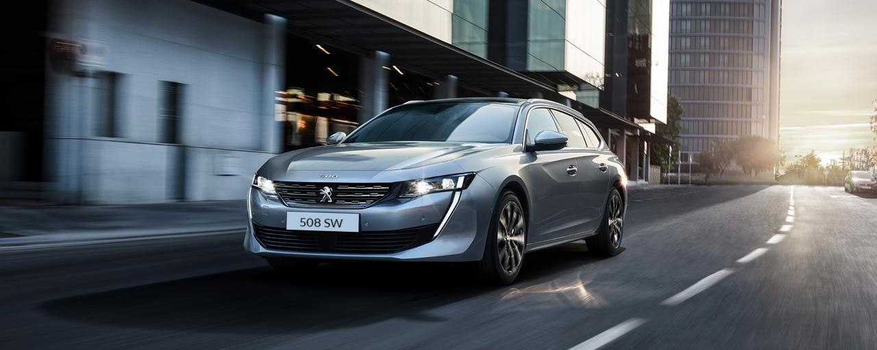 Peugeot 508 SW - The premium estate for business customers