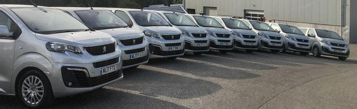 Peugeot Traveller Fleet