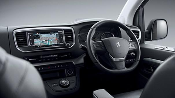 Peugeot Traveller interior dashboard