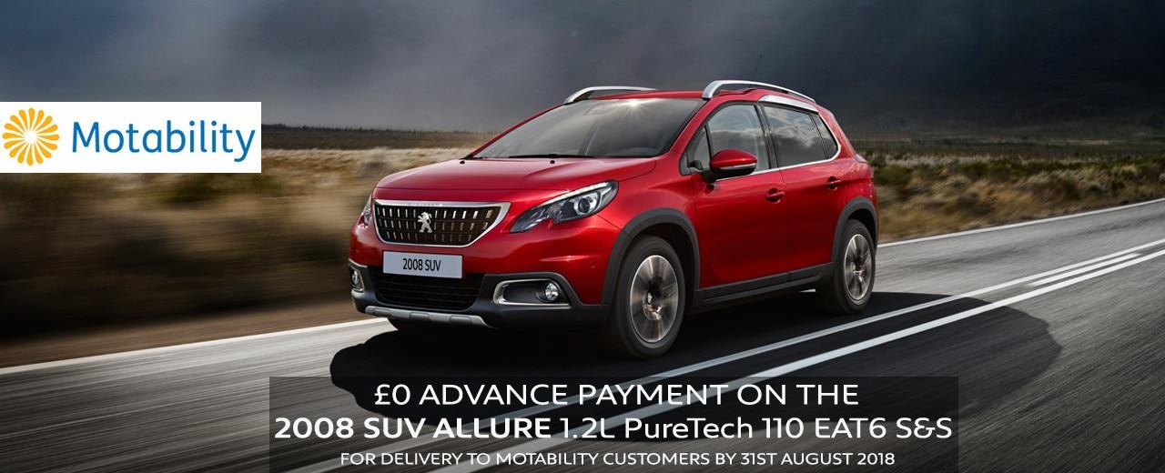 Peugeot 2008 SUV Allure Offer