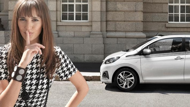 Peugeot 108 Dressy personalisation
