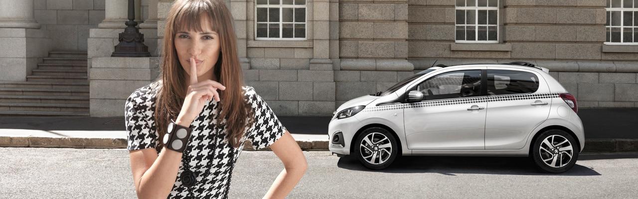 Peugeot 108 Dressy personalisation