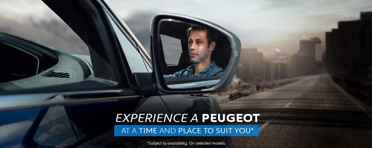 Experience a Peugeot Today