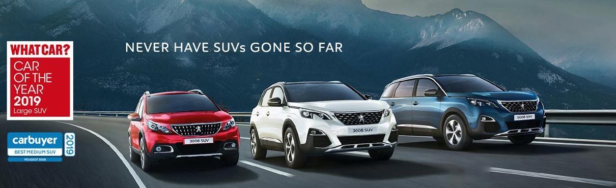 Peugeot SUV Award-Winning Range