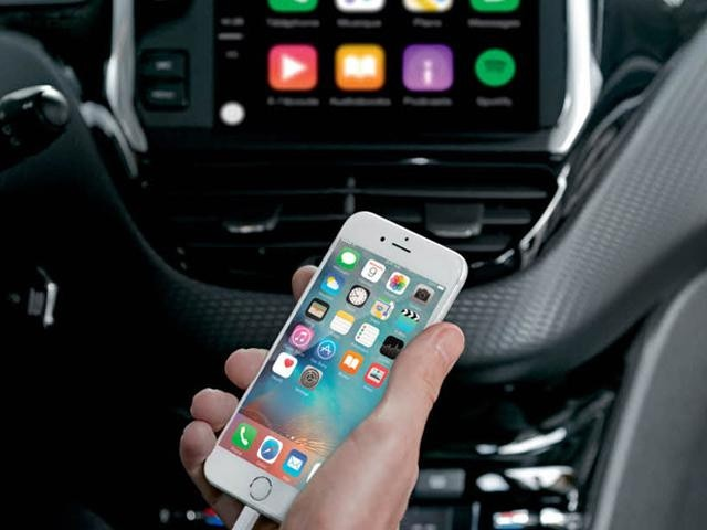 208 5 door mirror screen and carplay