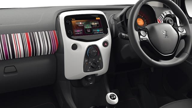 Peugeot 108 Barcode interior