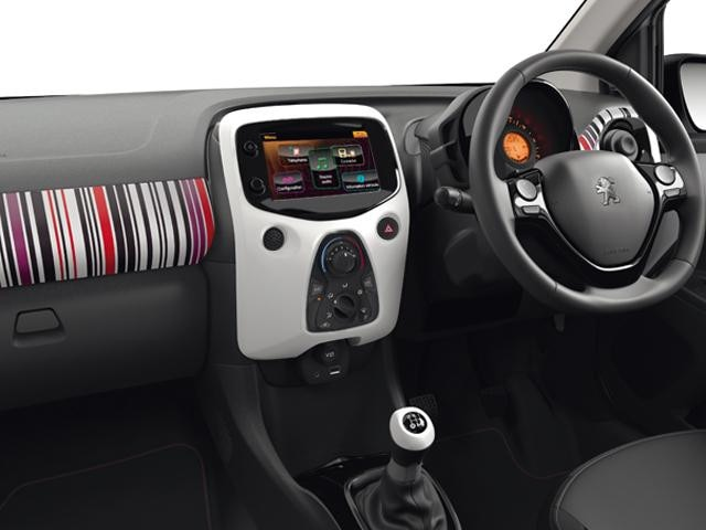 Peugeot 108 Barcode interior