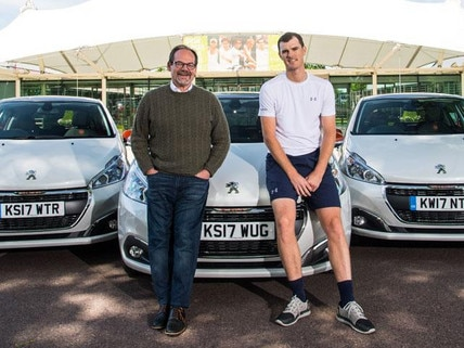 Peugeot 208 and Jamie Murray