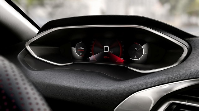 PEUGEOT 308: new digital instrument panel