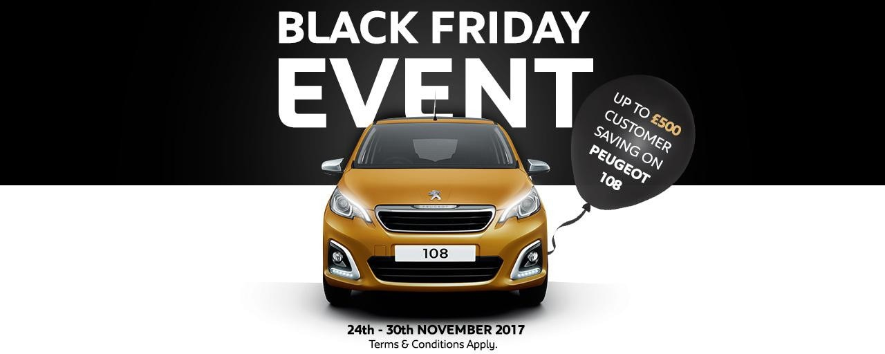 Peugeot UK Black Friday 2017