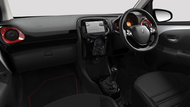 Peugeot 108 dashboard