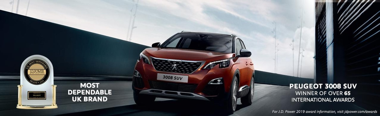 Peugeot Awards - 3008 SUV