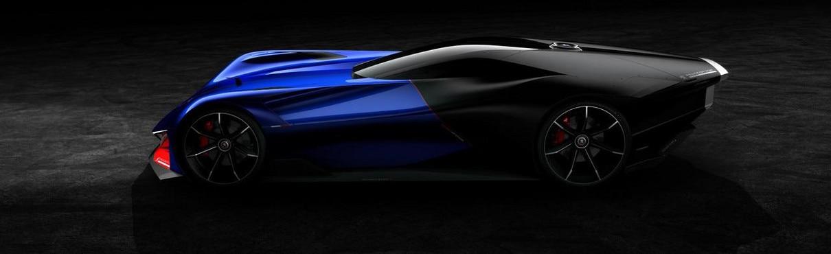 Peugeot L500 R Hybrid concept car for Gran Turismo