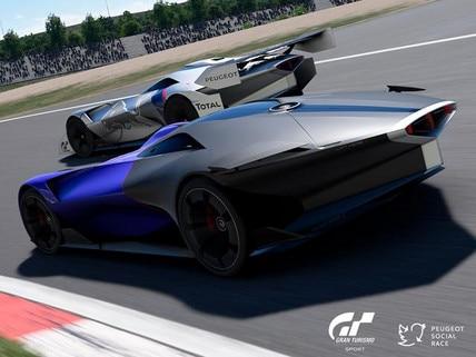 Peugeot L500 R Hybrid concept car