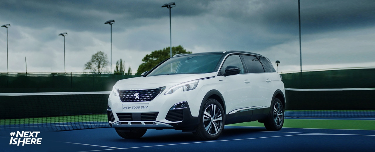 Drive to Tennis - Peugeot 5008 SUV