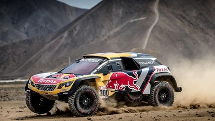 Peugeot Dakar 2018 best of 3008 DKR