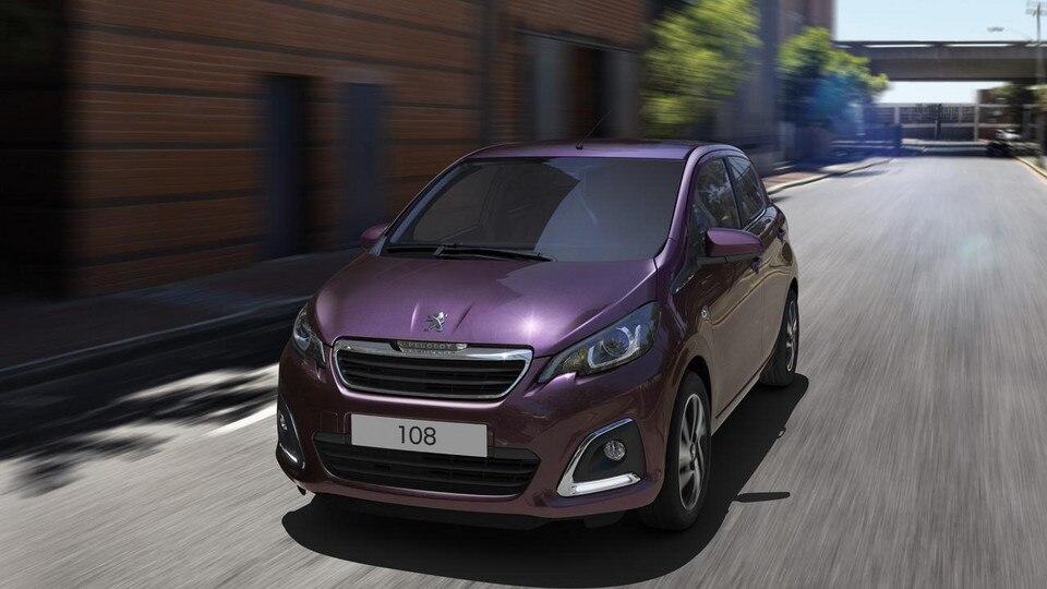 Peugeot 108 purple