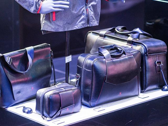 Peugeot leather luggage collection