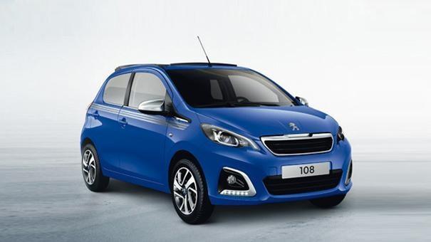 Peugeot 108 Collection Blue City Car