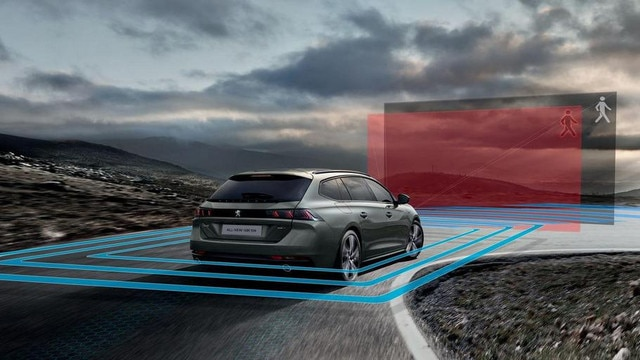All-new PEUGEOT 508 SW packed with technology