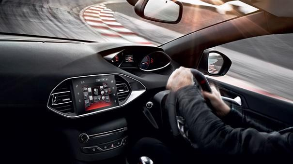 308 GTi by Peugeot Sport interior dashboard quality