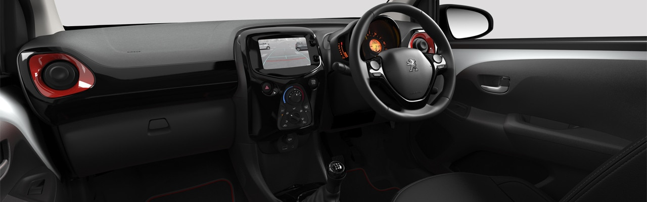 Peugeot 108 touchscreen