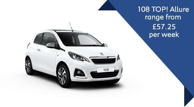 108 TOP! Allure semi-automatic Q3 motability offer