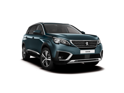 Peugeot 5008 SUV with Transparent Background