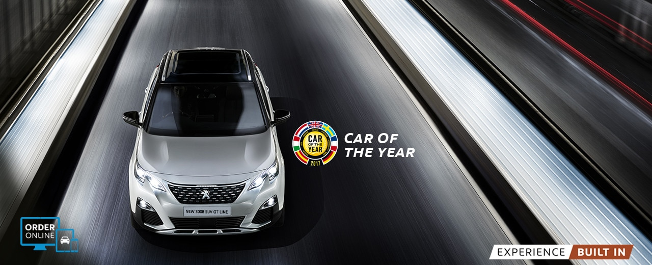 new 3008 suv car of the year